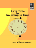 Save Time by Investing in Time