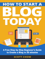 How to Start a Blog Today