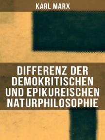 Differenz der demokritischen und epikureischen Naturphilosophie