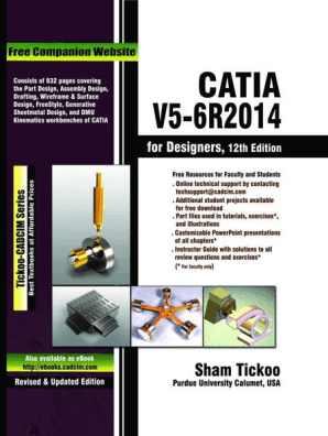 CATIA V5-6R2014 for Designers by Sham Tickoo - Book - Read Online