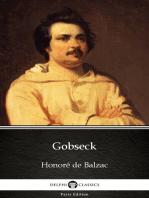 Gobseck by Honoré de Balzac - Delphi Classics (Illustrated)