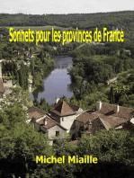 Sonnets pour les provinces de France