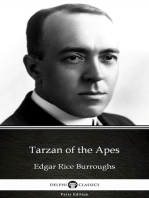 Tarzan of the Apes by Edgar Rice Burroughs - Delphi Classics (Illustrated)