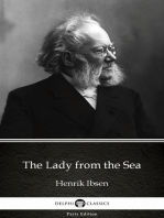 The Lady from the Sea by Henrik Ibsen - Delphi Classics (Illustrated)
