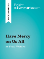 Have Mercy on Us All by Fred Vargas (Book Analysis)