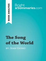 The Song of the World by Jean Giono (Book Analysis)