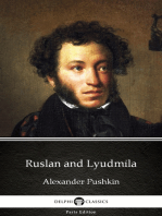 Ruslan and Lyudmila by Alexander Pushkin - Delphi Classics (Illustrated)