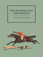 Fox-Hunting Past and Present