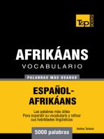 Vocabulario Español-Afrikáans