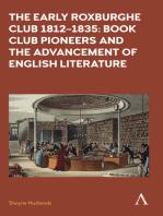 The Early Roxburghe Club 18121835