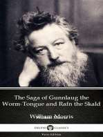 The Saga of Gunnlaug the Worm-Tongue and Rafn the Skald by William Morris - Delphi Classics (Illustrated)