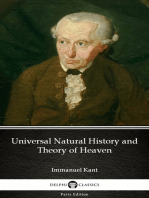 Universal Natural History and Theory of Heaven by Immanuel Kant - Delphi Classics (Illustrated)