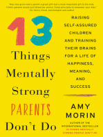 13 Things Mentally Strong Parents Don't Do