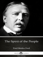 The Spirit of the People by Ford Madox Ford - Delphi Classics (Illustrated)