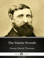 The Maine Woods by Henry David Thoreau - Delphi Classics (Illustrated)