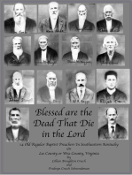 Blessed are the Dead That Die in the Lord