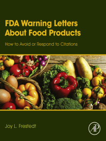 FDA Warning Letters About Food Products: How to Avoid or Respond to Citations