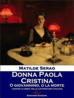 Donna Paola - Cristina - O Giovannino, o la morte