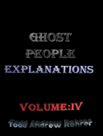 Ghost People Explanations Volume:4