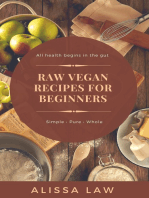 Raw Vegan Recipes for Beginners