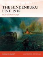 The Hindenburg Line 1918