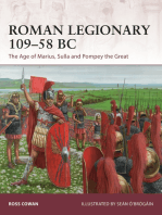 Roman Legionary 109–58 BC