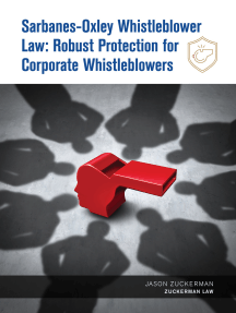 Sarbanes-Oxley Whistleblower Law: Robust Protection for Corporate Whistleblowers