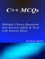 C++ MCQs