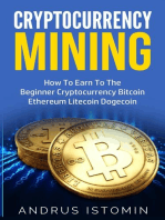 Cryptocurrency Mining How To Earn To The Beginner Cryptocurrency Bitcoin Ethereum Litecoin Dogecoin