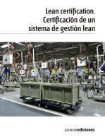 Lean certification. Certificación de un sistema de gestión lean