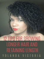 12 Tips for Growing Longer Hair and Retaining Length