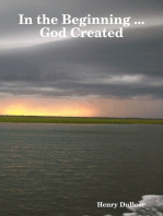In the Beginning ... God Created