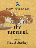 A Few Things You Should Know About the Weasel