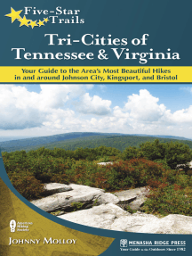 Five-Star Trails: Tri-Cities of Tennessee and Virginia: Your Guide to the Area's Most Beautiful Hikes In and Around Bristol, Johnson City, and Kingsport