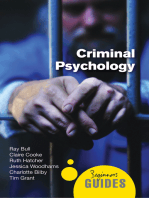Criminal Psychology: A Beginner's Guide