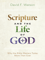 Scripture and the Life of God