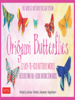 Origami Butterflies Ebook: Full-Color Origami Book with 12 Fun Projects and Downloadable Instructional Video: Great for Both Kids and Adults