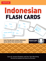 Indonesian Flash Cards: (Downloadable Audio Included)