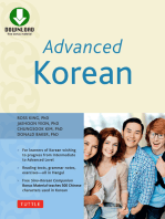 Advanced Korean: Includes Downloadable Sino-Korean Companion Workbook