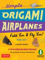 Simple Origami Airplanes Mini Kit Ebook