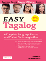 Easy Tagalog: A Complete Language Course and Pocket Dictionary in One! (Free Companion Online Audio)