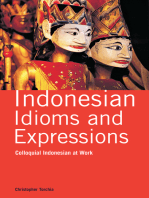 Indonesian Idioms and Expressions