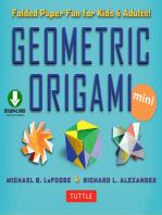 Geometric Origami Mini Kit Ebook