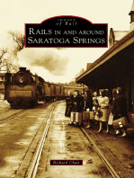Rails in and around Saratoga Springs