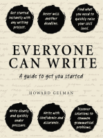 Everyone Can Write