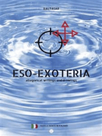 eso-exoteria: allegorical writings and drawings (con testo a fronte in italiano)