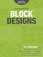 Free-Motion Block Designs