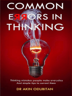 Common Errors in Thinking