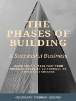The Phases of Building a Successful Business.