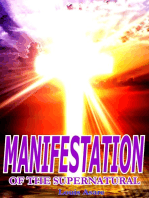 Manifestation Of The Supernatural